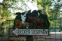 Warum auch immer das Schild im Tierpark steht ;)
