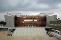 Hier, in der Arena Armeec, findet die Eröffnungs- und die Abschlussfeier statt