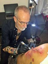 Mauri Manolibera Tattoo - Mauri's Tattoo& Gallery, Mauri Manolibera Tattoo - freehandtattoo  , Svizzera - Italia