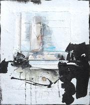 Verlorene Siege 2, Acrylfarbe, Holz, Polyesterglas auf Lw. ,  60 x 70 cm