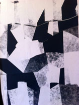 unfolding space 2014 ink on paper