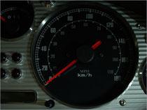 Classic meter panel (aluminum)
