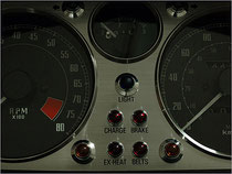 Classic meter panel (stainless steel)