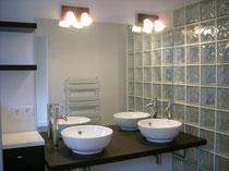 Salle d'eau dans chambre parentale - Bordeaux