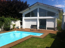 Terrasse, tour de piscine - Caudéran