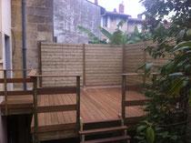 Terrasse en Ipé - Bordeaux