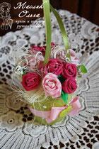 tekstilʹnyye-tsvety-rozy-podarok