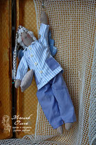 СПЛЮШКА. Сонный ангел тильда. Подарок. Маслик Ольга