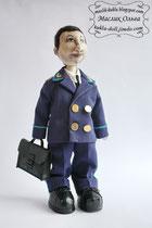 Авторская текстильная кукла. Кукла-прокурор