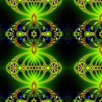 2014 schwarz-grünes Fraktal
