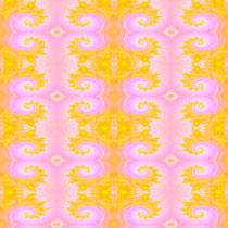 2014 pink-gelbes Fraktal