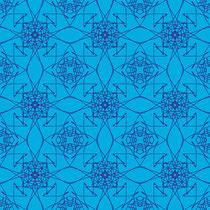 2014  Zeichnung, blau-türkis