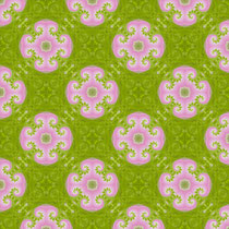 2016 grün-pinkes Fraktal