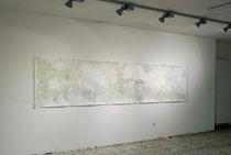 Frühlingserwachen, 2008, Bleistift, Aquarell auf Papier, 119cm  x 500 cm