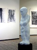 ohne Titel, Skulptur, 2014, Marmor, 60 x 15 x 16 cm