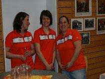 Die Helferinnnen von der Frauen-Fussballmannschaft