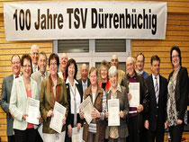 Jubilare (40 Jahre Mitgliedschaft)