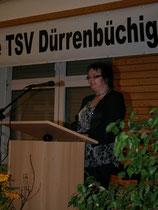 Ansprache der 2. Vorsitzenden Sibylle Keppler-Leicht