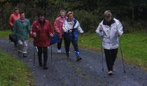 Montag-Mittwoch-Walking-Gruppe 2011