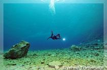Grüner See Unterwasserfotos Menschen, Unterwasserfotos Süßwasser