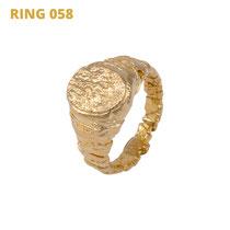 "Ring aus der Serie Glam Rocker | 925 Sterlingsilber Gelbgold vergoldet |*handmade  <br><a href=""https://www.caroertl.com/shop/ringe/ring-058/"" target=""_blank"" p style=""color:#d5a93e""> zum SHOP ...</a>"