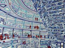 Reichstag von Innen - Januar 2012 - 80x60 cm