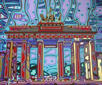 Brandenburger Tor - November 2011 - 60x50 cm - verkauft