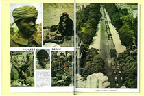 フランス軍の外国人部隊。アラブ人、ベルベル人、シンハラ人などを撮影