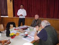 Martin Bauer berichtet über die Gemeindepolitik