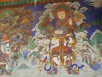 リキル僧院の壁画