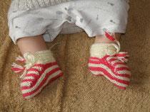 手作りの靴下