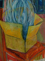 pandora´s box  -  gouache and pastel on paper  -  30x45 cm  -  1995