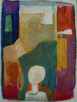 made of stone  -  gouache and pastel on paper  -  30x45 cm  -  1995