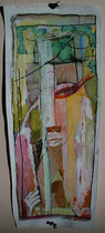 untitled  -  gouache and pastel on paper  -  20x50 cm  -  2003