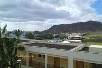 Blick von meinem Balkon im Playitas Hotel