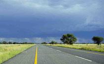 Unwetter über Kimberley
