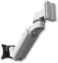 医療向け ウォールチャネルマウント 昇降式 壁取付用モニターアーム:ASUL180IBV-W5