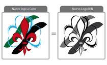 Nuevo logo en Color + en Blanco y Negro