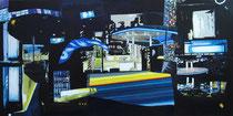 2014 Follow me, 70 x 140 cm, Acryl/Leinwand