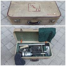 Aspiradora con maleta años 50 marca Valer.