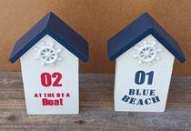 Cajas caseta de playa
