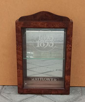 Vitrina con espejo 1 balda. Ref Mayflower. 40x26x10 fondo