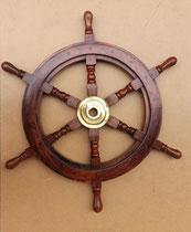 Timón madera. 63 centímetros de diámetro. Disponible en 93 centímetros diámetro.