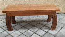 Banco en madera de teca