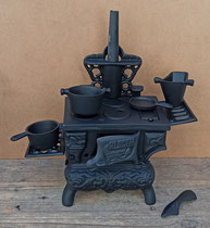 Miniatura cocina hierro