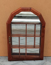 Vitrina espejo compartimentos. Ref 104H.  40x30x6 fondo.