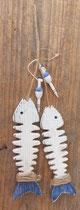 Raspas peces madera