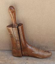Horma de zapatos desmontable en madera