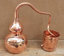 Alambique cobre 5 litros