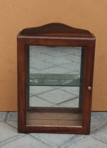 Vitrina con espejo 1 balda. Ref Vit 6. 40x26x10 fondo